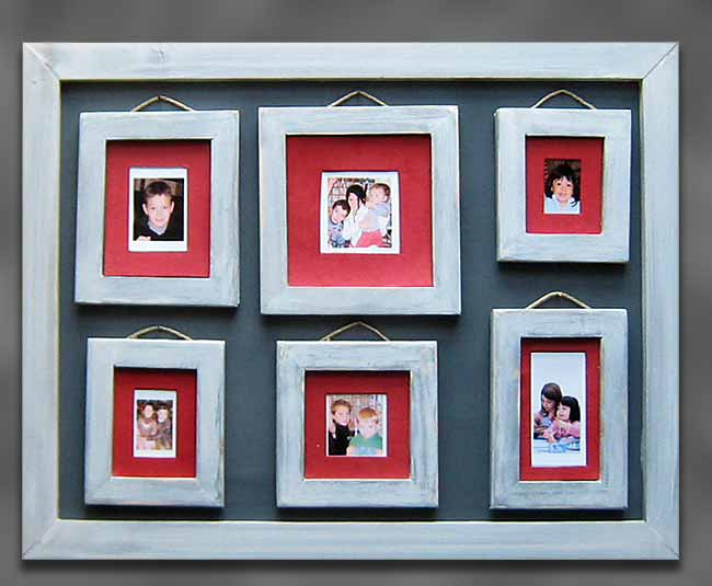 all in family photo frame how to build an a large frame for several picture frames inside. Black Bedroom Furniture Sets. Home Design Ideas