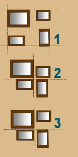 how to hang picture frames in a staircase stairways arrangements. Black Bedroom Furniture Sets. Home Design Ideas