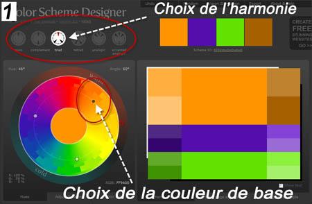 harmony of colors color scheme designer. Black Bedroom Furniture Sets. Home Design Ideas