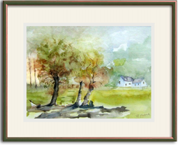 Passe Partout Mounting How To Frame A Watercolor