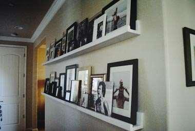 picture ledges picture shelves and picture rails