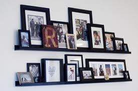 picture ledges picture shelves and picture rails. Black Bedroom Furniture Sets. Home Design Ideas
