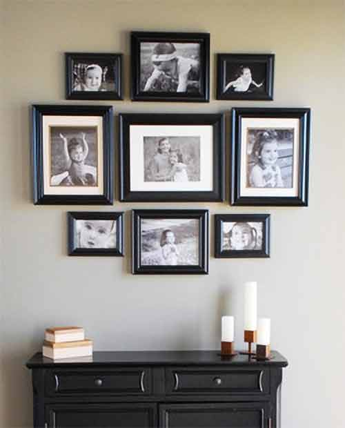 Placing Picture Frames Rules How To Group Picture Frames