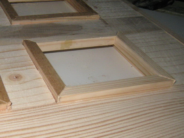 how to build a blue multiple photo frame 4 photos frame. Black Bedroom Furniture Sets. Home Design Ideas