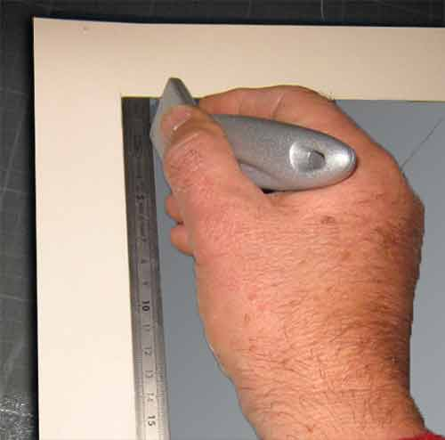 How To Frame A Drawing Passe Partout Mounting