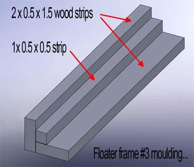 floater frame moulding model3