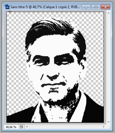 Warhol Clooney cutting