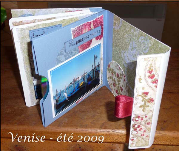 Travel Diary Making Of With Scrapbooking Technics