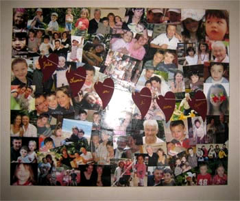 how to decoupage pictures and photos on a canvas photo transfer like. Black Bedroom Furniture Sets. Home Design Ideas