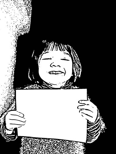 Making Of A Comic Strip From Photos Cartoon Black And White