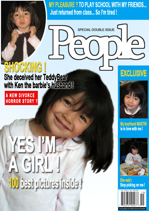 make your own fake magazine cover how to make a people faux magazine
